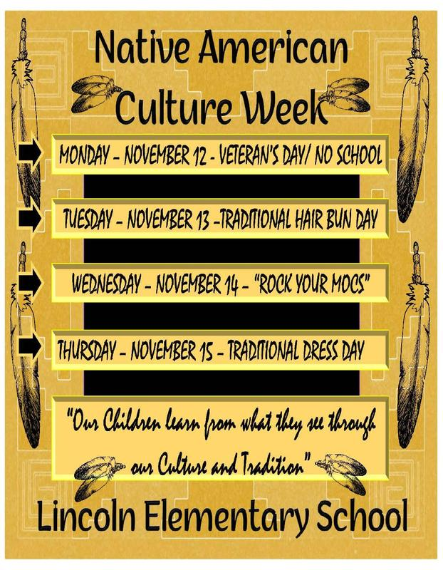 Lincoln Elem Cultural Week