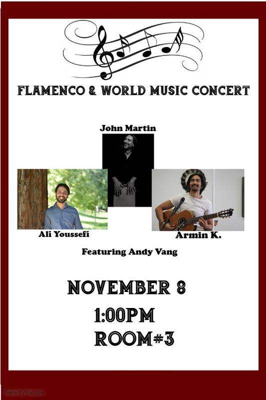 Music Concert Nov. 8th
