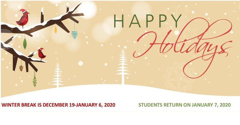 Happy Holidays from Mineral Wells ISD