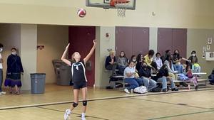 Girls Volleyball at Diamond Valley
