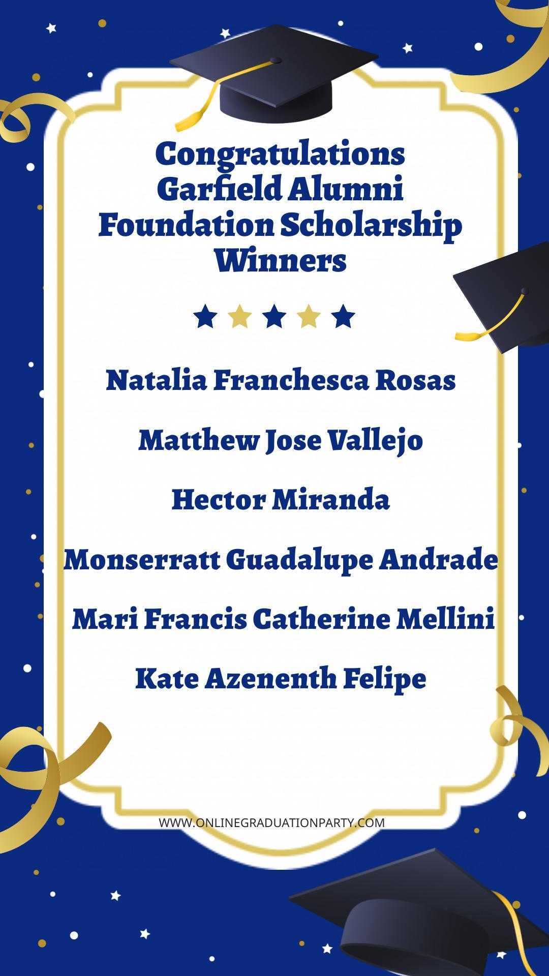 GAF Awardees