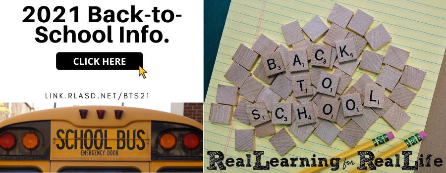 2021 Back to School info | link.rlasd.net/bts21