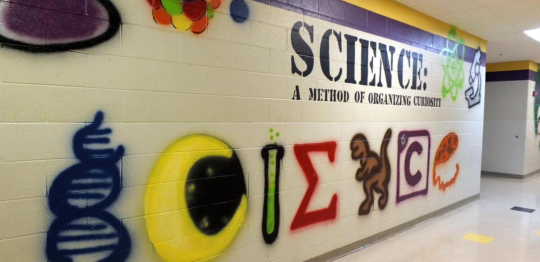 Science Mural Mosheim