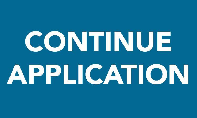 Continue Application button