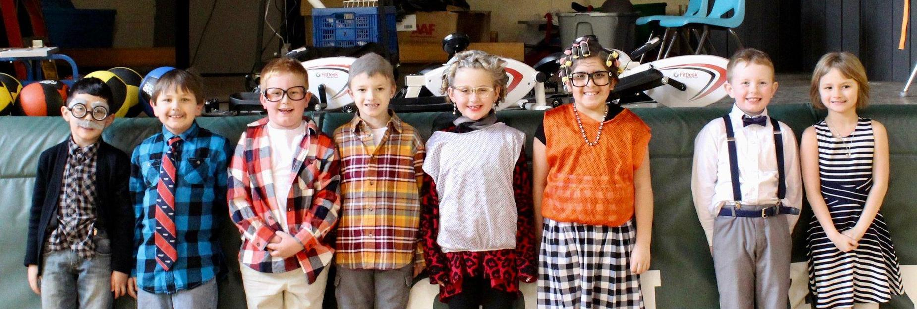 Dress up day at CCES
