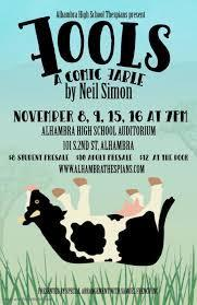THESPIANS PRESENT THE FALL PLAY!!! Featured Photo