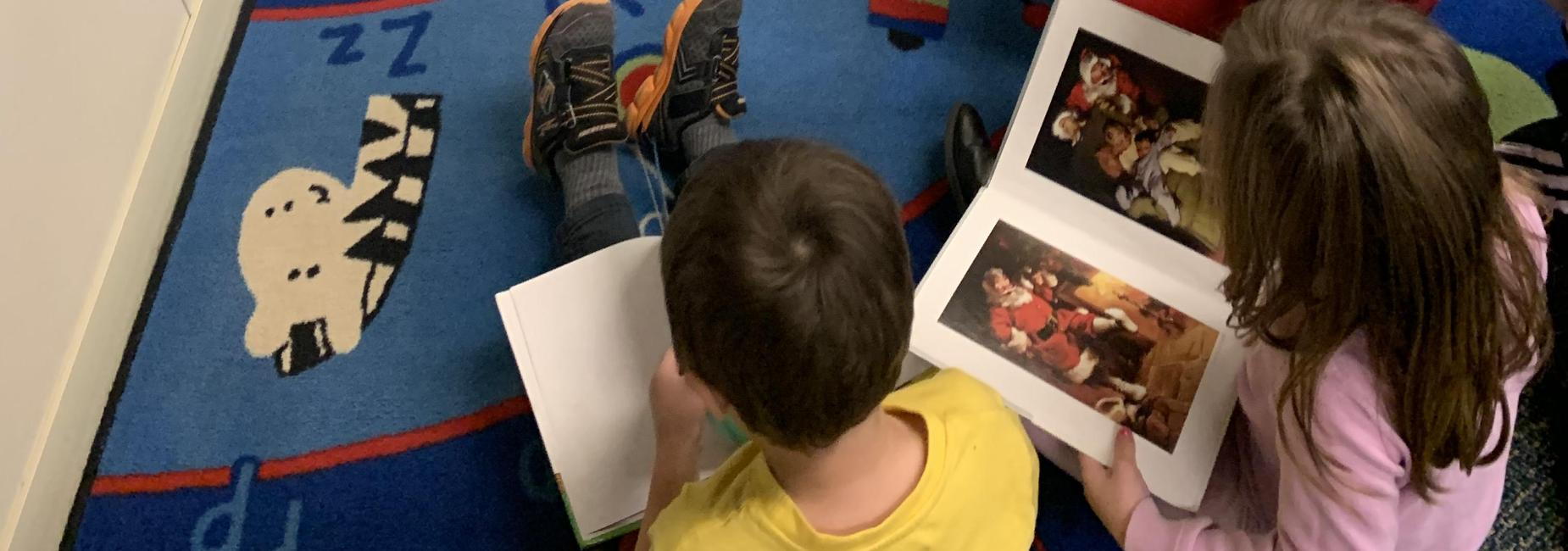 reading pictures in books