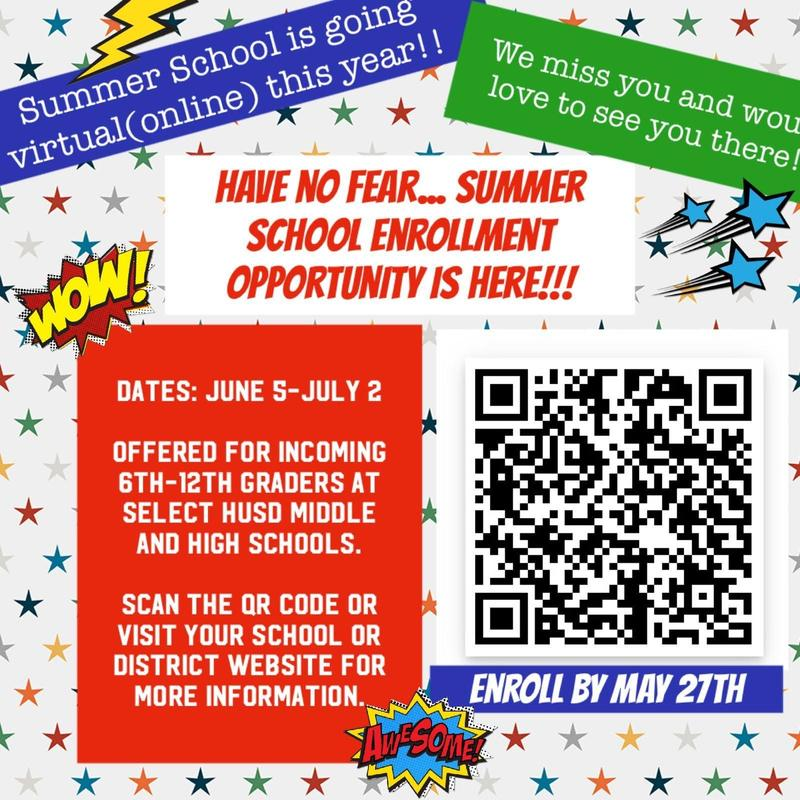 Summer School Information English Version