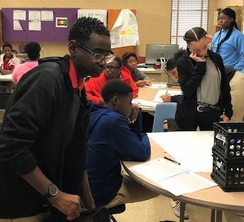 City of Baker Educators Rising in Action...Future Teachers at Work!