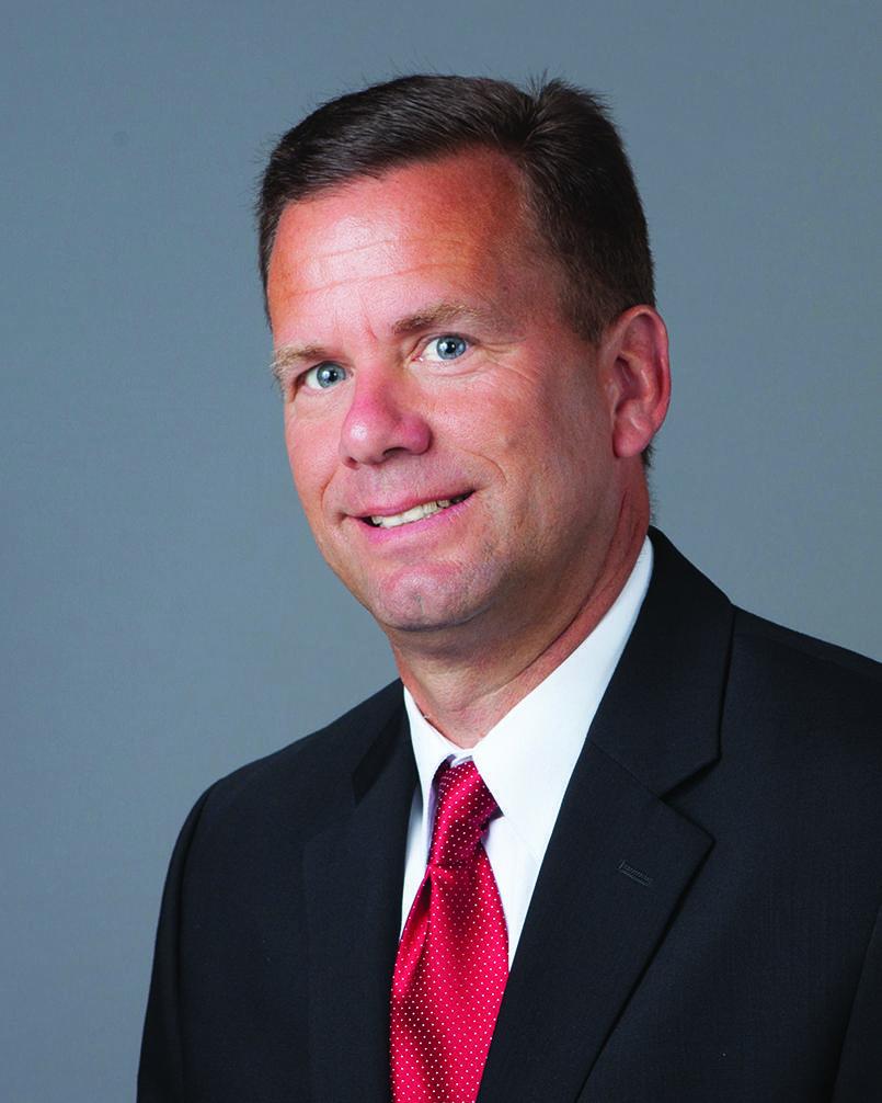Principal David Brady, Formal Portrait Photo