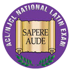 National Latin Exam logo