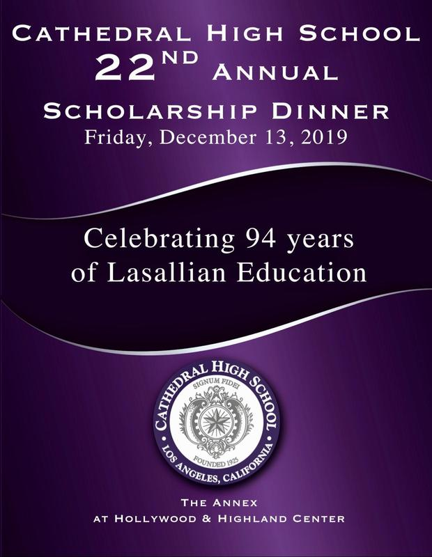 Saturday, December 13th: 22nd Annual Scholarship Dinner Thumbnail Image