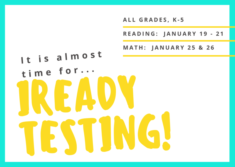 January iReady Testing Featured Photo