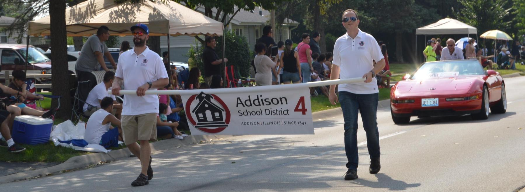Board of Ed in parade