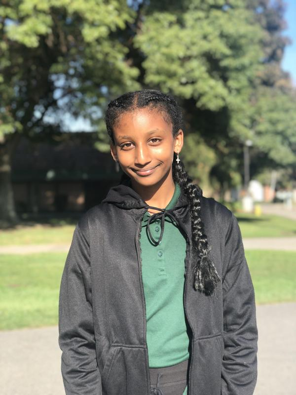 Bithania was CCA's Student of the Month in 2018.