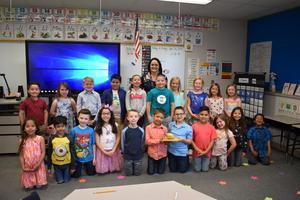 Megan Cox's First Grade Class