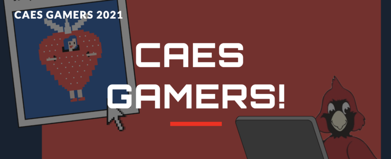 CAES Gamers decorative text