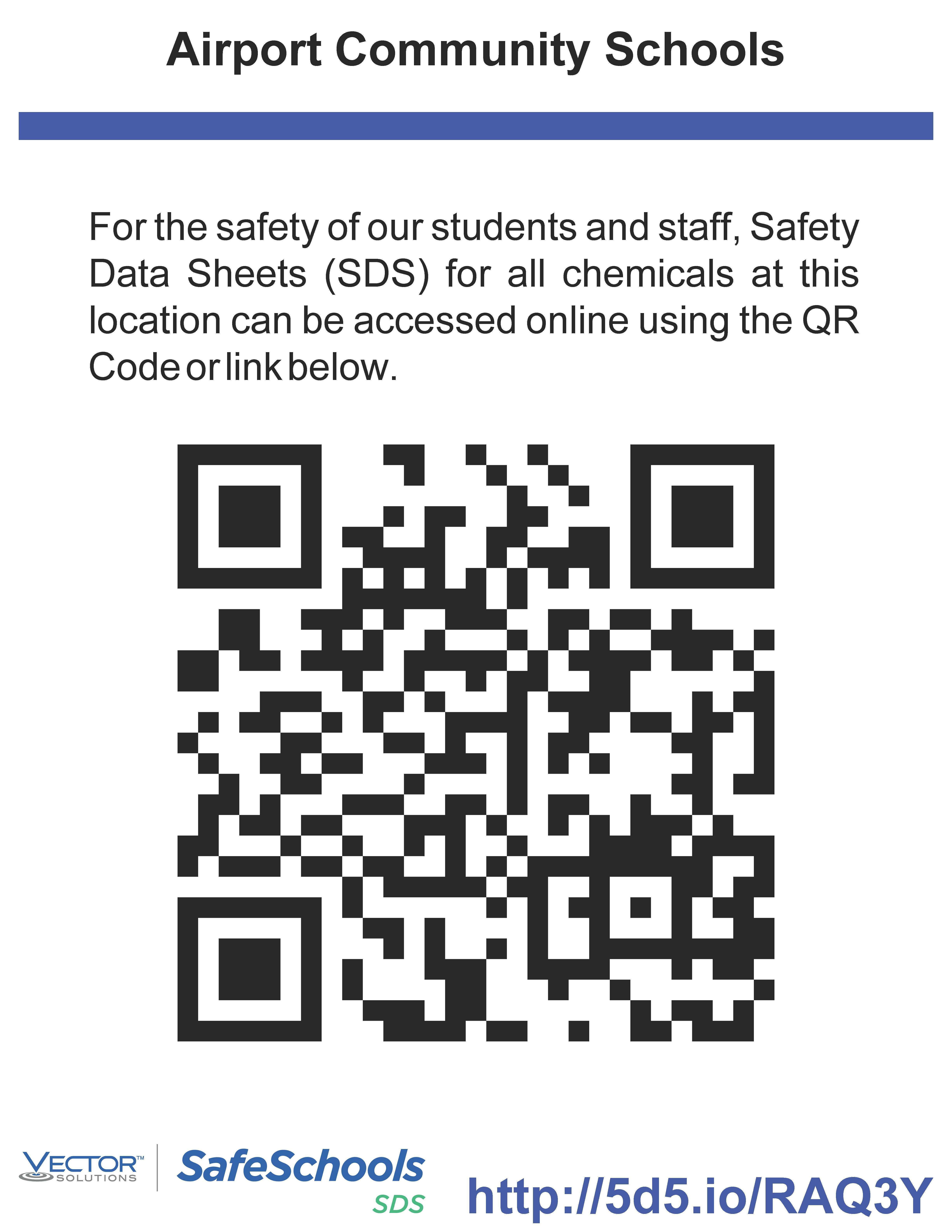 Saftey Data Sheet QR Code