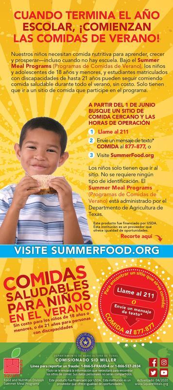 Summer Meals Program