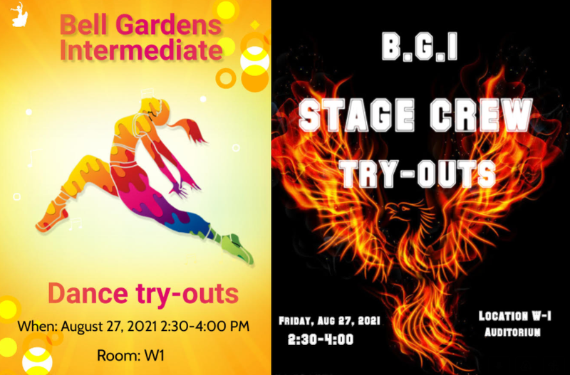 Dance Try-Outs Flyer