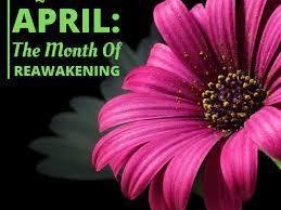April is the month of reawakening image