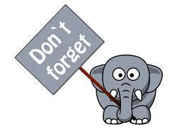 Elephant Don't Forget