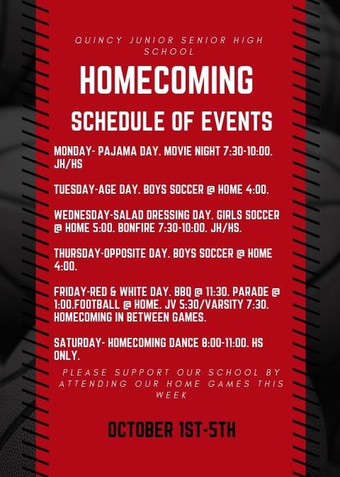 Homecoming Events
