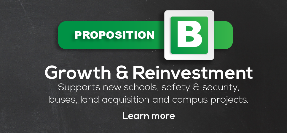 Growth & Investment: New Schools, Safety & Security, Buses, Land and Campus Reinvestment/Infrastructure