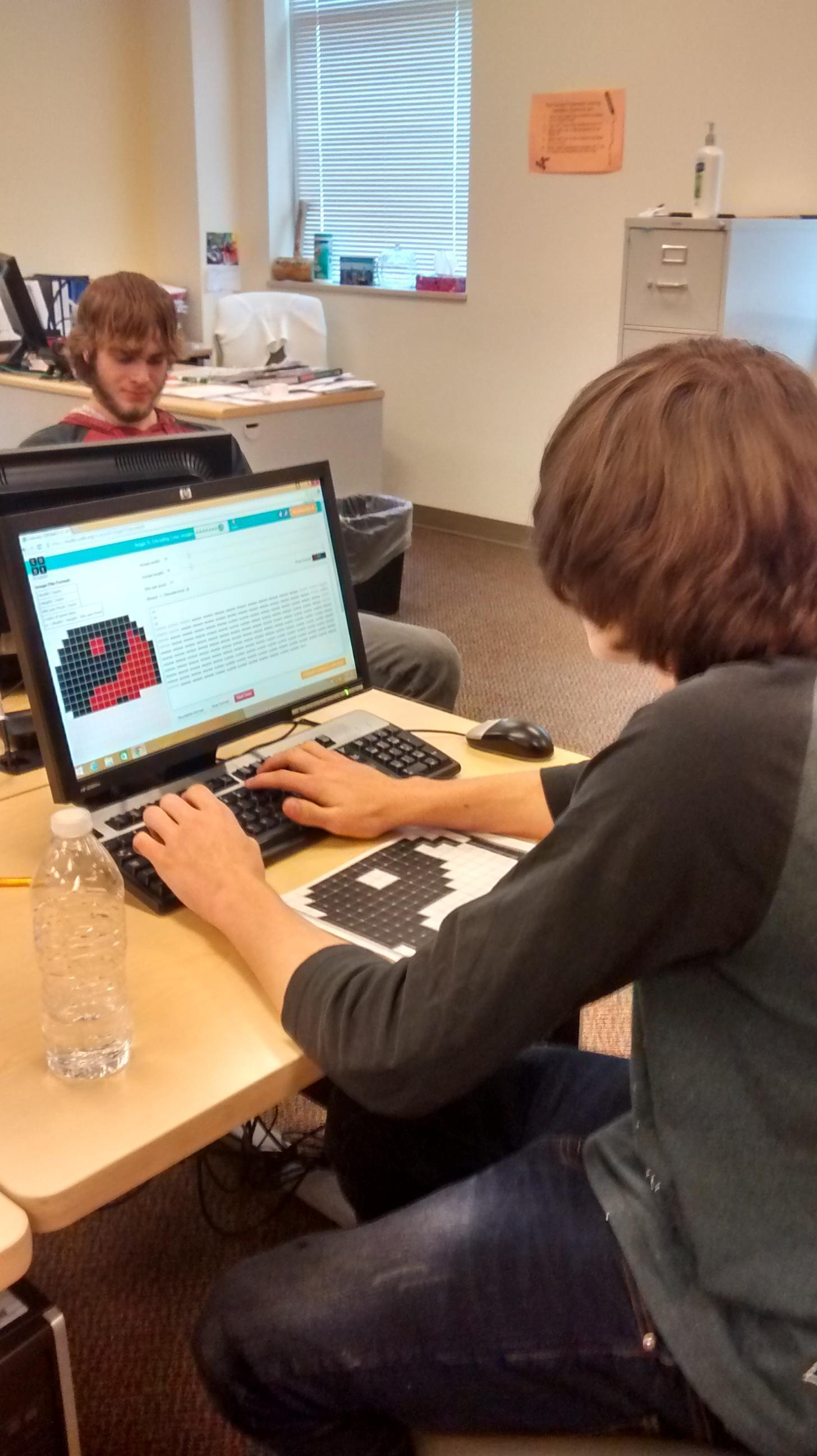 Student builds his favicon