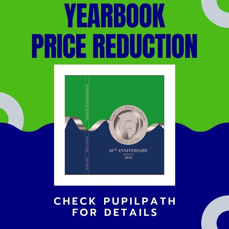 Yearbook Price Reduction