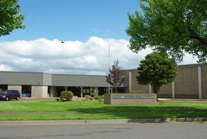 Front of Neil Armstrong Middle School