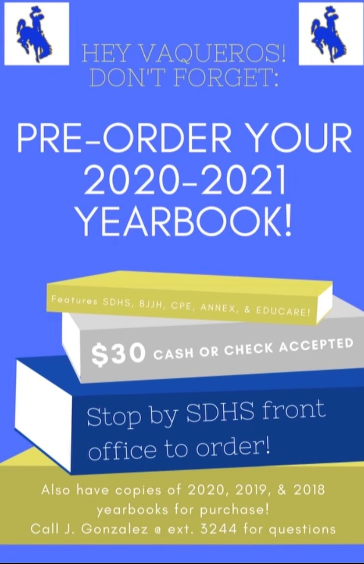 Year book flyer