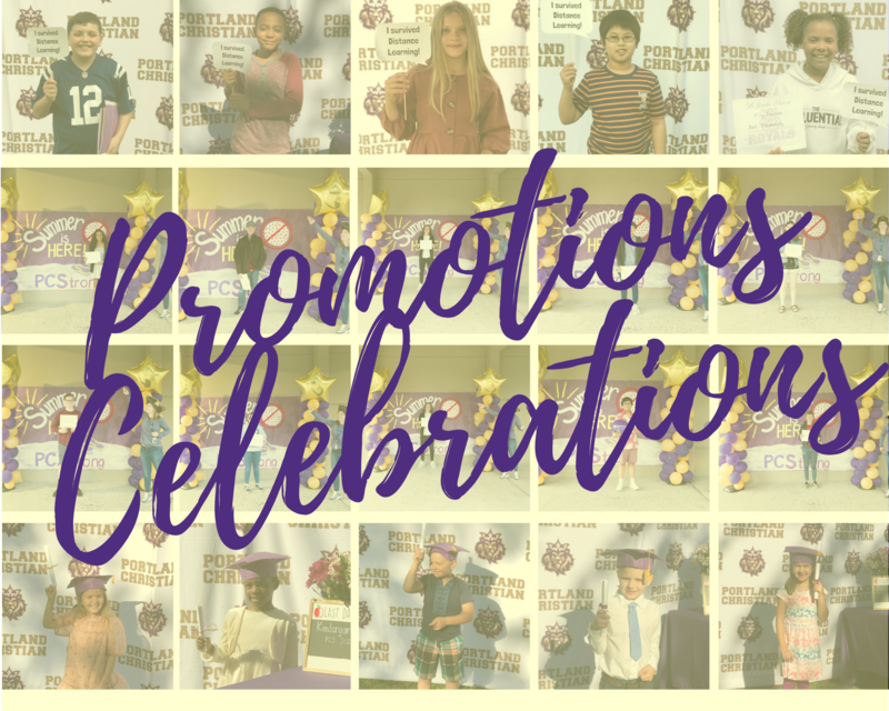 Photo collage of celebrations and promotions