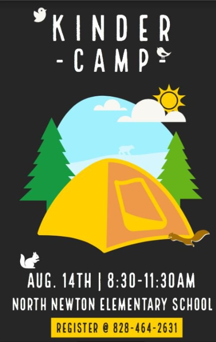 Camping flyer - August 14th 8:30 - 11:30 AM