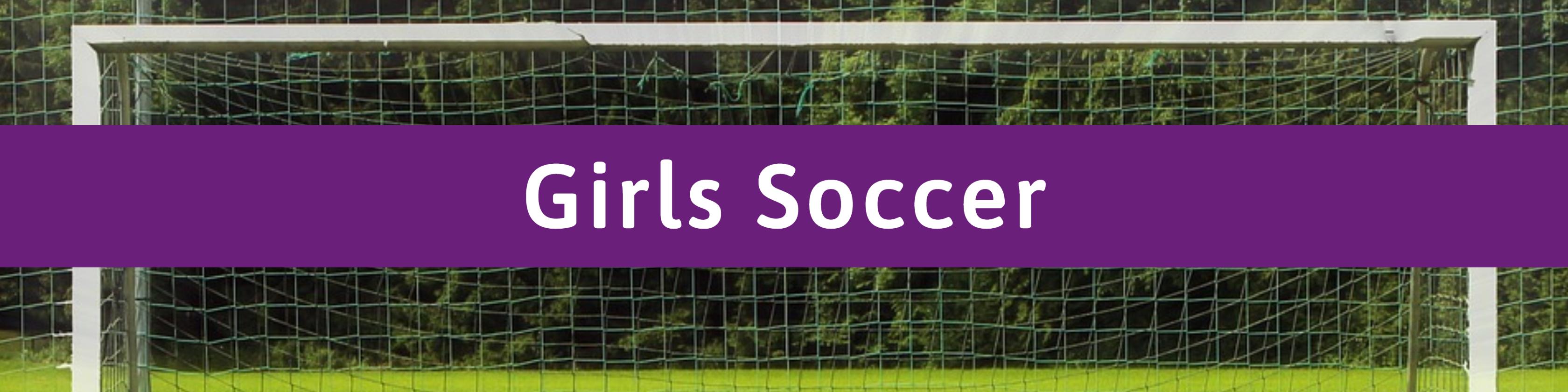 Girls Soccer Header