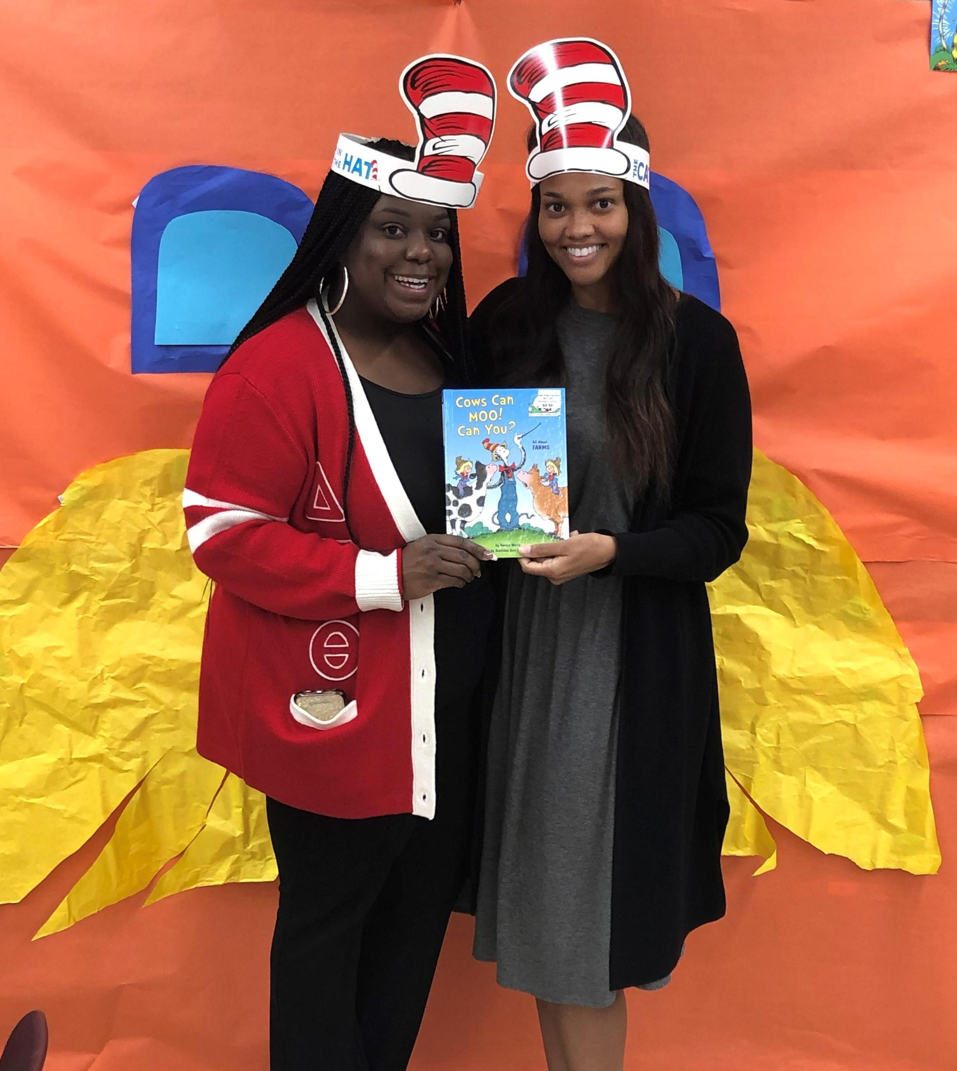 A photo of Baker Heights Dr. Seuss Read Across America Day 2020