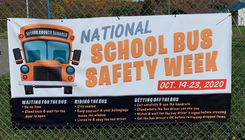 School Bus Safety Banner
