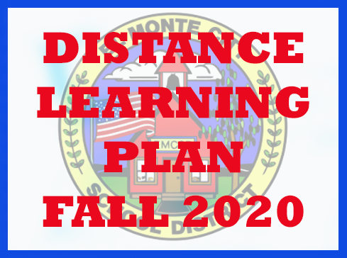 Distant Learning Plan Fall 2020
