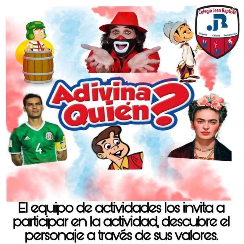 Actividades te invita a jugar ¿Adivina Quién? Thumbnail Image