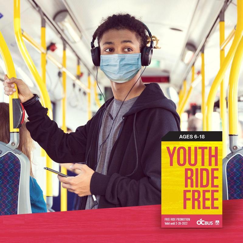 Youth Ride Free Bus Program