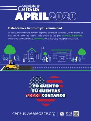 Census Poster 3 - Spanish