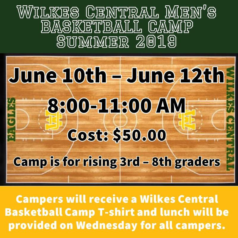 Summer WC Men's Basketball Camp Thumbnail Image