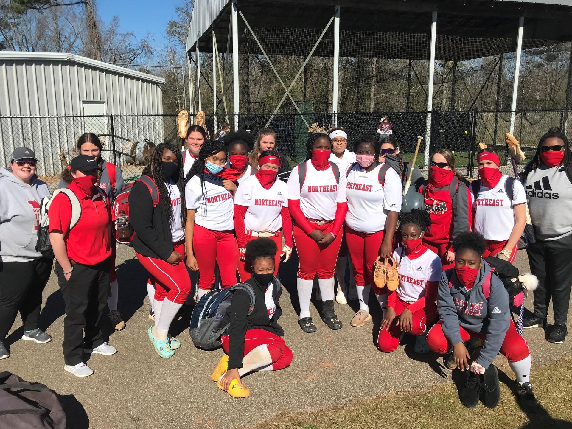 NEHS Softball Team