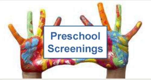 Preschool Screening for 20/21 School Year Featured Photo