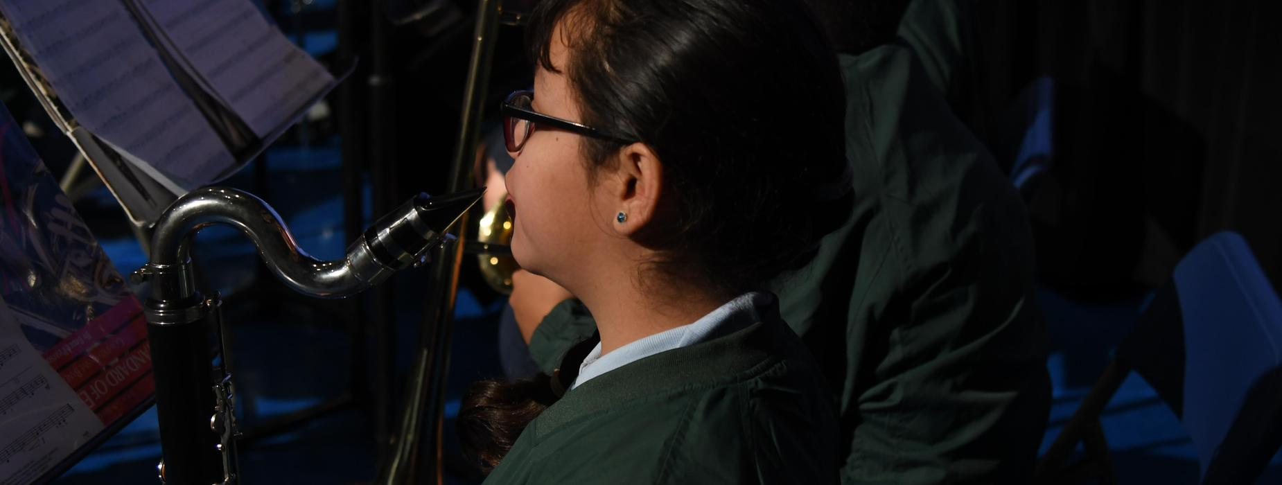 Girl in Band