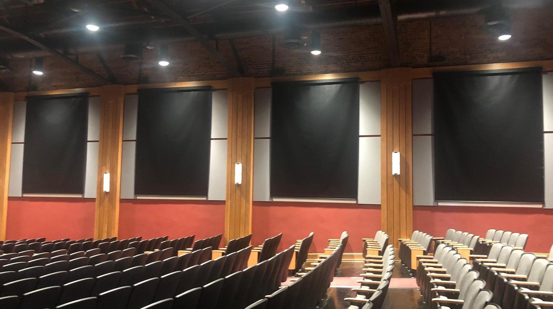 Brookland-Cayce High School Renovated Auditorium Blackout Shades