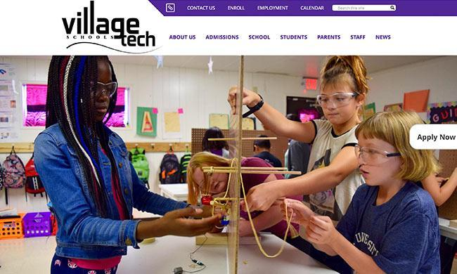 Village Tech's website