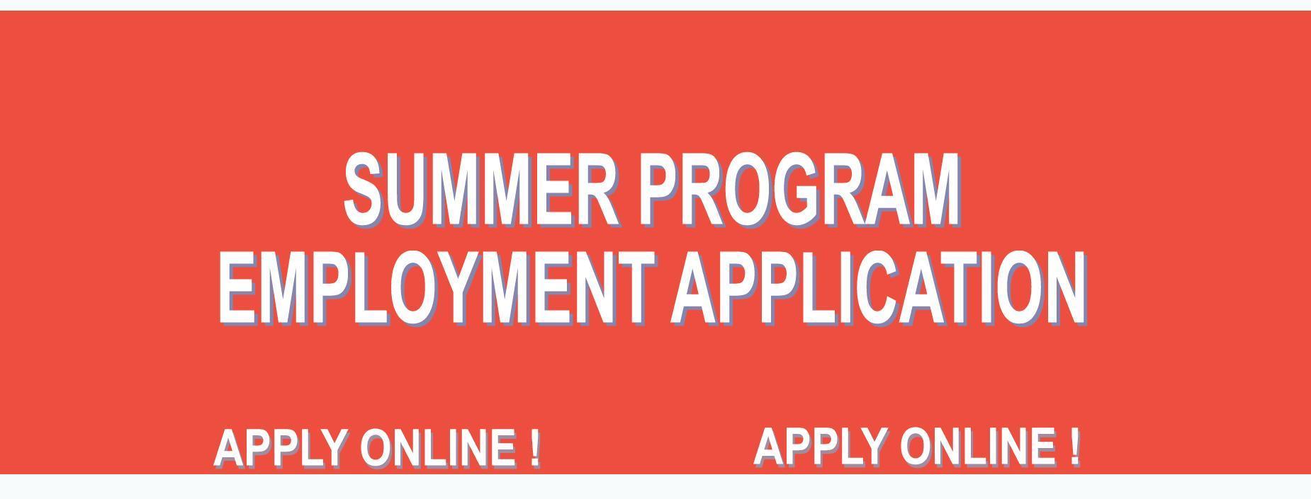 Summer Employment 2020