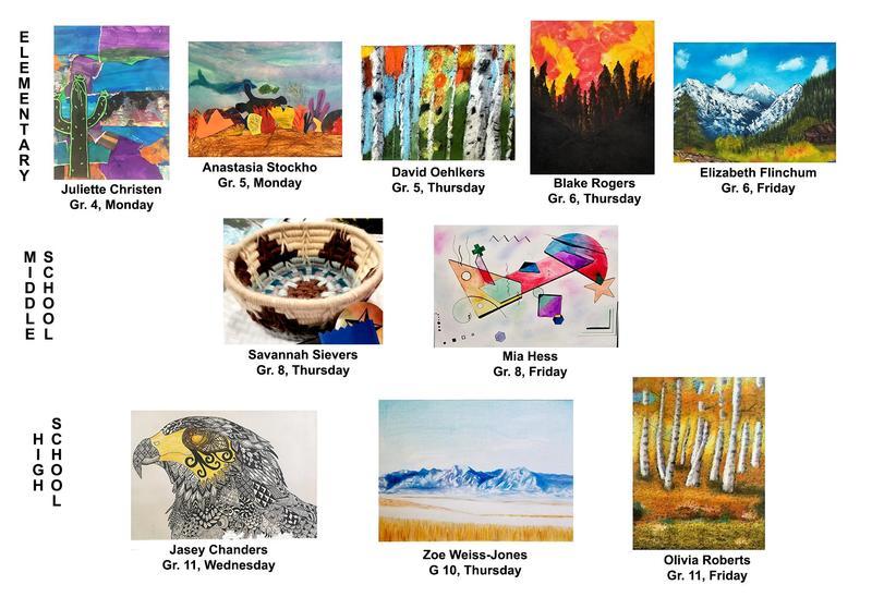art work winners