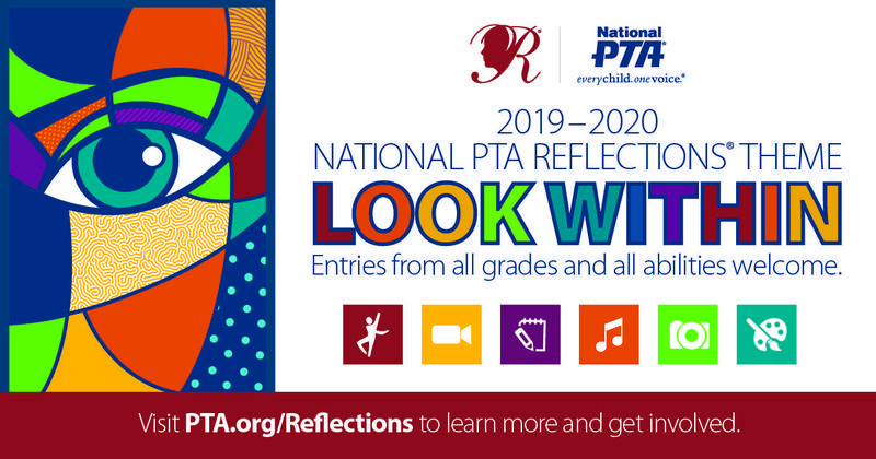 2019 PTA Reflections Information - Entries Collected on 10/28 & 10/29 Featured Photo